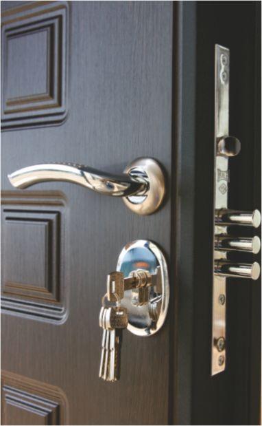 металлические двери модерн